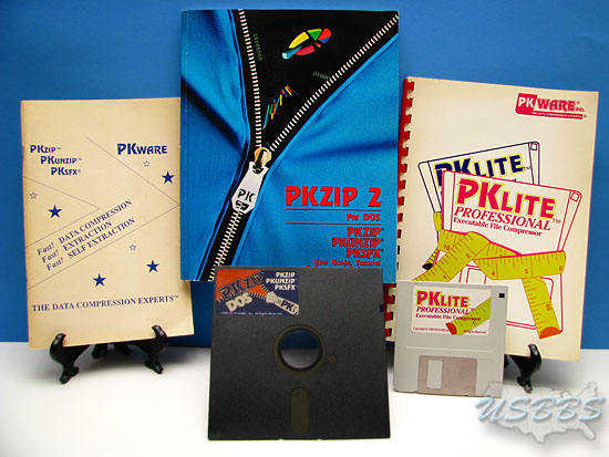 PKWare Manuals and Disks